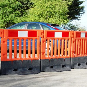 Oxford Plastics Strongwall Barrier - Orange