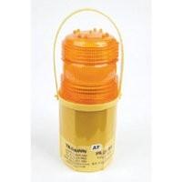 Microlite Hazard Warning Flashing Lamp With Photocell