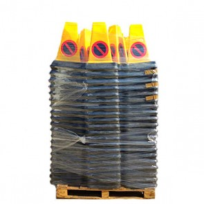 No Waiting - 2 Part Triangular Cones - Pallet of 200