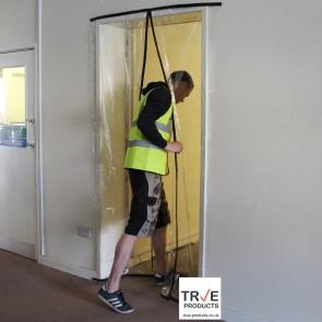 Magnetic Dust Prevention Door