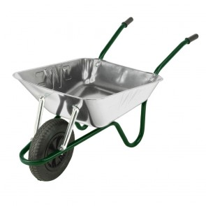 85 litre Galvanised Heavy Duty Wheelbarrow