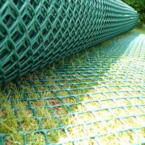 Standard Grass Reinforcement Mesh 1m x 10m - Green