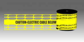 Detectable Underground Mesh - Electric Yellow