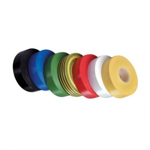 PVC Electrical Insulation Tape - Black 19mm x 33m