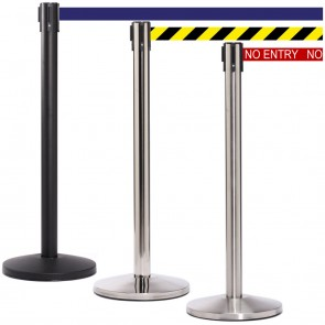 QueueMaster Cheap Retractable Belt Barriers