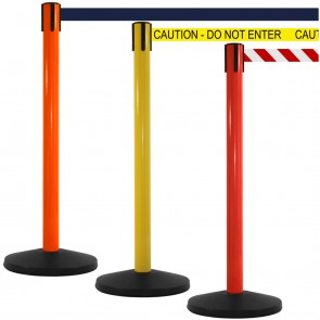 SafetyMaster High Visibility Retractable Barriers