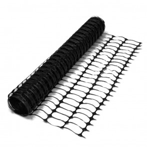 Black Barrier Fence Plastic Mesh