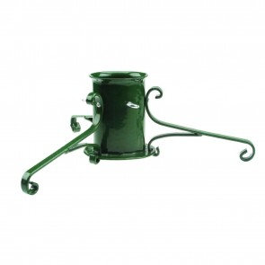Gardman Elegant Wrought Iron Christmas Tree Stand - Green