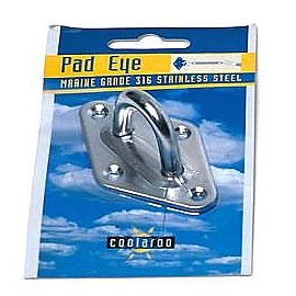 Coolaroo Pad Eye Stainless Steel