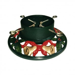 "14"" Cast Iron Bell Round Christmas Tree Stand"