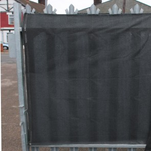 98% Anthracite Grey Shade Netting also for Privacy Screening