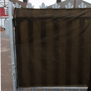 98% Brwon Shade Netting also for Privacy Screening