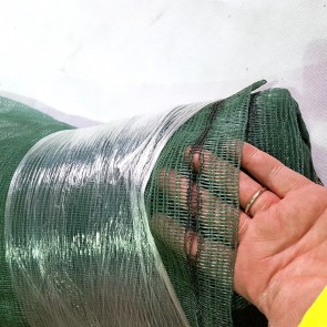 GT Mono 50% Windbreak Netting - With Eyelets - 1.5m x 50m Green
