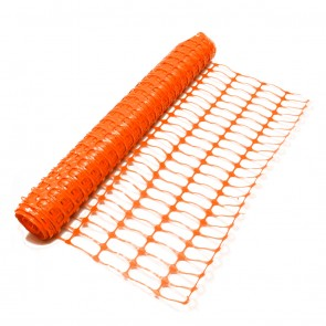Orange Barrier Mesh Fence