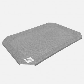 Coolaroo Raised Pet Bed Replacement Covers - Grey
