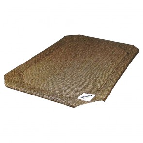 Coolaroo Raised Pet Bed Replacement Covers - Nutmeg
