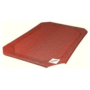 Coolaroo Raised Pet Bed Replacement Covers - Terracotta
