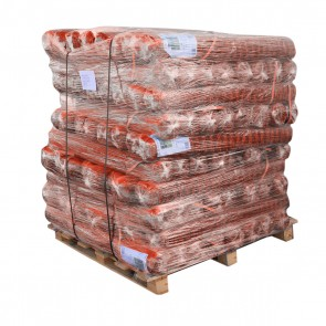 Pallet of Orange Barrier Mesh Fence