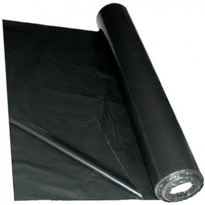Polythene Sheet Plastic Ground or Protection Cover - 1000 guage - 2m x 50m