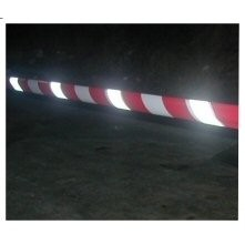 REFLECTIVE Barrier Tape Red & White