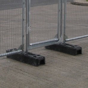 Rubber Feet for Metal Barriers