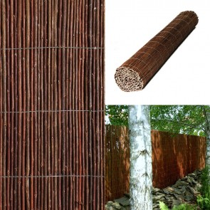 Premium Air Dried Willow Natural Privacy Screening 4m Long