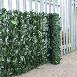 2 Colour Artificial Ivy Hedge Screening