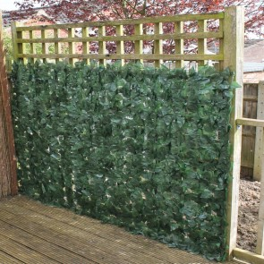 Attrayant True Artificial Ivy Leaf Hedge, Garden Fence Privacy Screening   3m Long