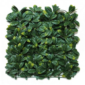 Artificial Laurel Leaf Hedge Panels -  Front