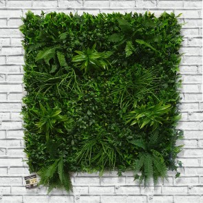 Artificial Green Wall Living Hedge Panel 100 x 100cm