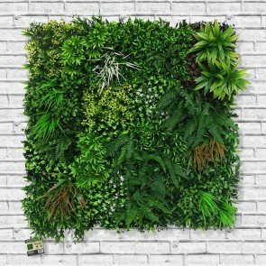 Artificial Living Wall Spring Hedge Panel 100 x 100cm