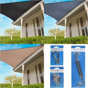 Coolaroo Everday Shade Sale 95% UV Block - Triangle