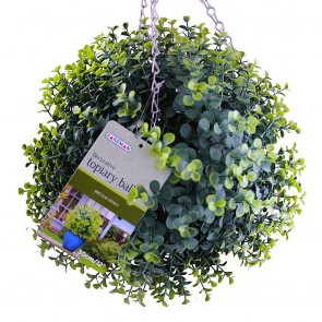 Topiary Ball Box Leaf Effect 30cm