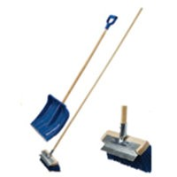 Adult Snow Shovel & Brush Set