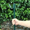 PVC Painted Steel Fencing Pins / Road Pins Strong - 10mm - Green