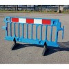 Avalon Pedestrian Utility Construction Safety Plastic Barrier - Blue 2m - Pallet of 50
