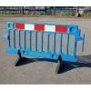 Avalon Pedestrian Utility Construction Safety Plastic Barrier - Blue 2m - Pallet of 50