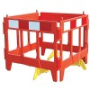 Oxford Vim Compact Communications Folding Plastic Barrier - Pallet