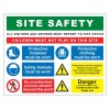 SITE SAFETY 800 x 1000mm Sign