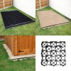 Shed Base Kit - Weed Fabric & 330mm TruePave Grids