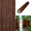 Premium Air Dried Willow Natural Wood Fence Privacy Screening 4m Long