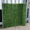 Evergreen Artificial Conifer Hedge, Garden Fence Privacy Screening - 3m Long