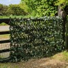 Artificial Maple Expanding Willow Trellis Hedge