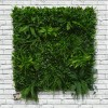 Artificial Living Wall Green Hedge Panel 100 x 100cm