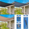 Coolaroo Everyday Shade Sail 95% UV Block - Square
