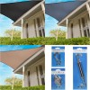 Coolaroo Everyday Shade Sail 95% UV Block - Triangle