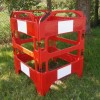 Oxford Safegate Folding Communication Manhole Plastic Barrier - Red - Various Gate Options